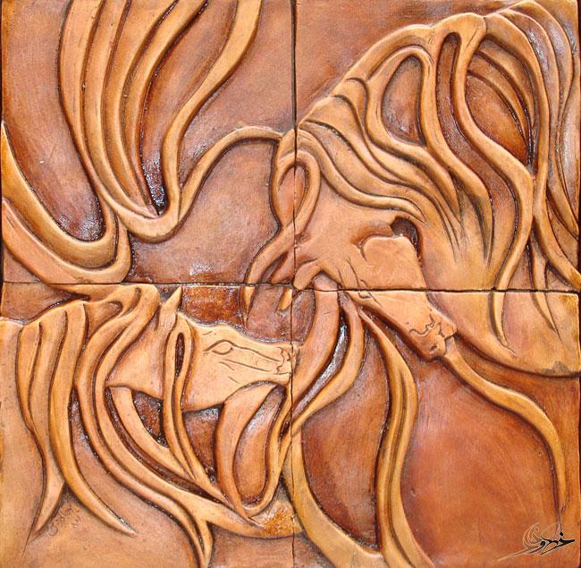 کتیبه اسب