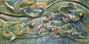 کتیبه رقص ماهی ها